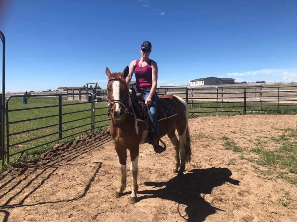 josie.under.saddle